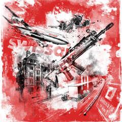 Work Schweiz terror tschanun gotthard swissair grounding editorial illustrastion Kornel Illustration | Kornel Stadler