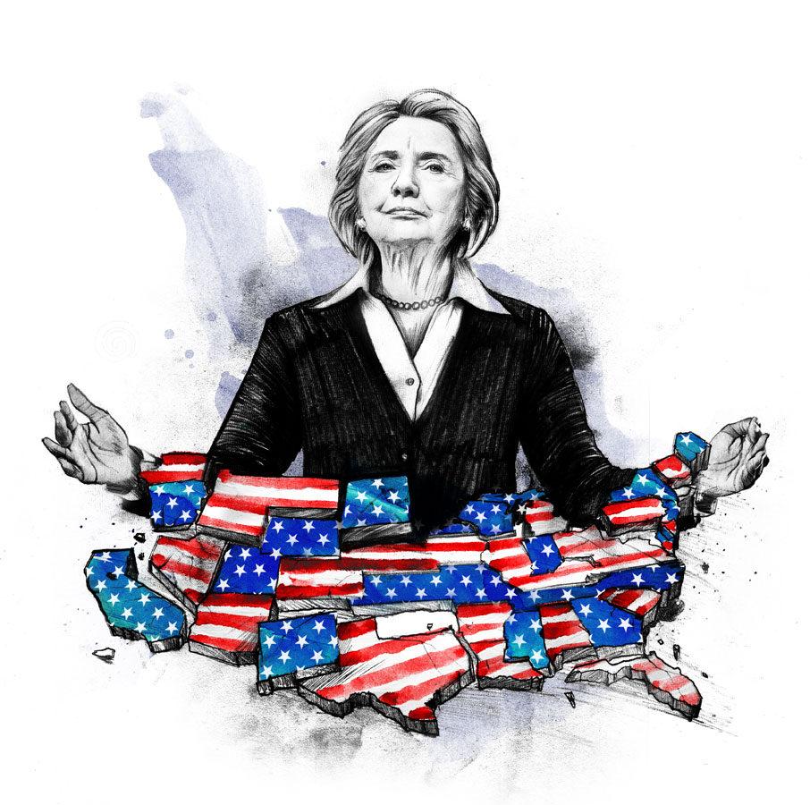 Clinton - Kornel Illustration | Kornel Stadler portfolio