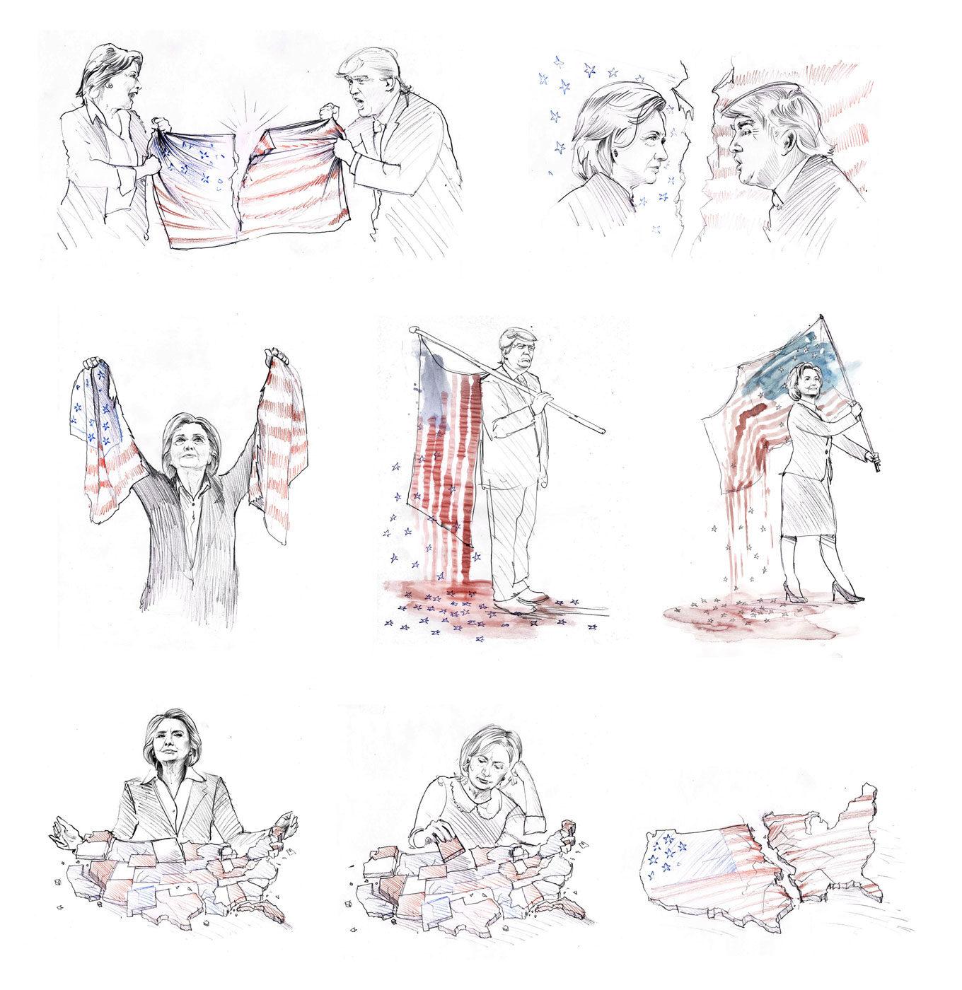 Skizzen Die Zeit - Kornel Illustration | Kornel Stadler portfolio