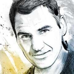 Work Roger Federer 3134 634 1100 Kornel Illustration | Kornel Stadler