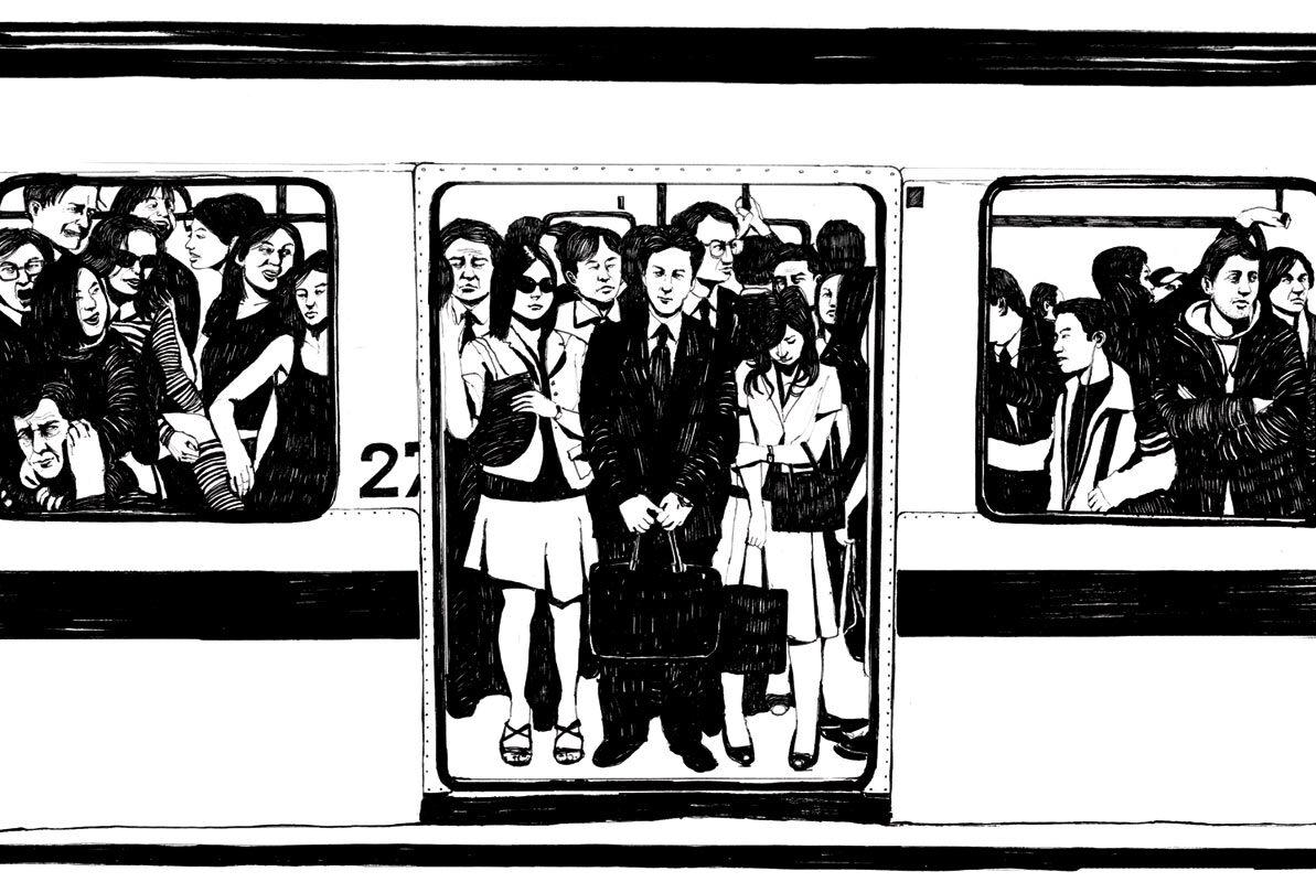 U bahn - Kornel Illustration | Kornel Stadler portfolio