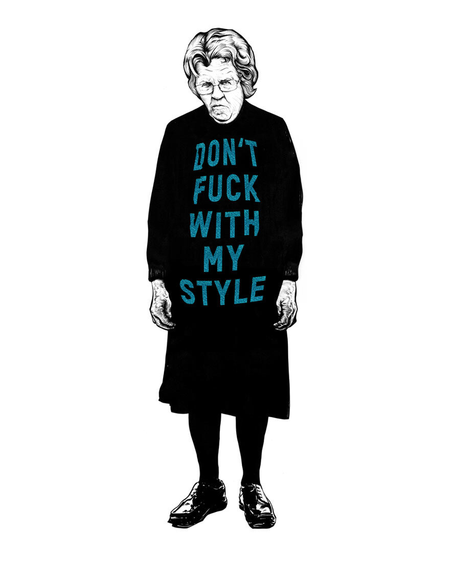 Dont fuck with my style - Kornel Illustration | Kornel Stadler portfolio
