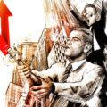 Client Arbeit Vaccine wallstreet Kornel Illustration | Kornel Stadler