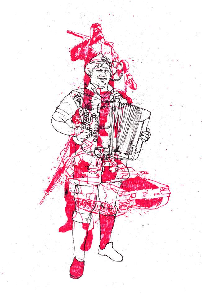 Eidgenosse1 - Kornel Illustration | Kornel Stadler portfolio