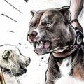 Client Arbeit Dogfight Kornel Illustration | Kornel Stadler