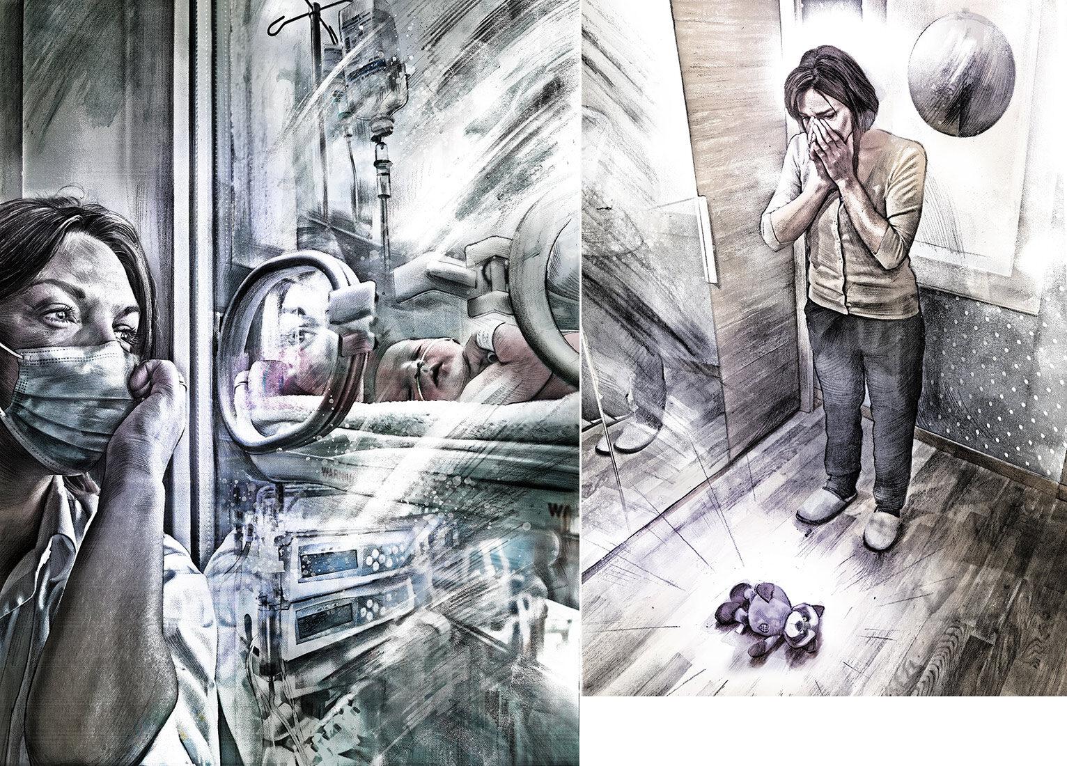 Beo stemcell - Kornel Illustration | Kornel Stadler portfolio