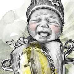 Work Baby Pokal 2777 410 800 Kornel Illustration | Kornel Stadler
