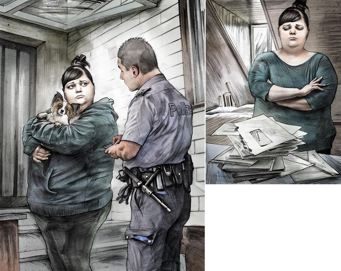 Schulden1 - Kornel Illustration | Kornel Stadler portfolio