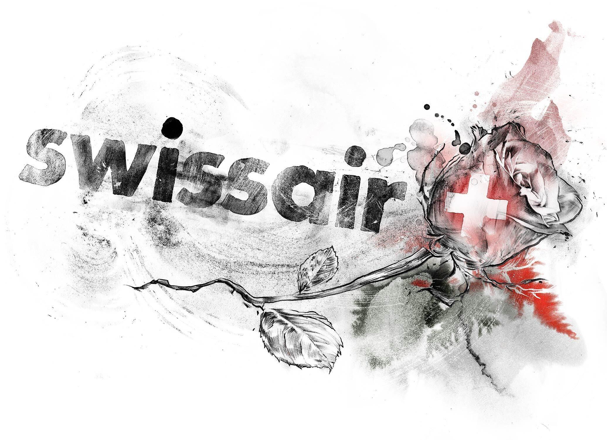 Swissair - Kornel Illustration | Kornel Stadler portfolio