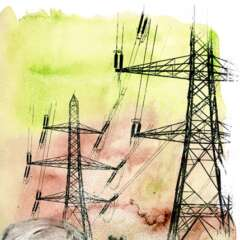 Work Energiepolitik 2715 462 900 Kornel Illustration | Kornel Stadler