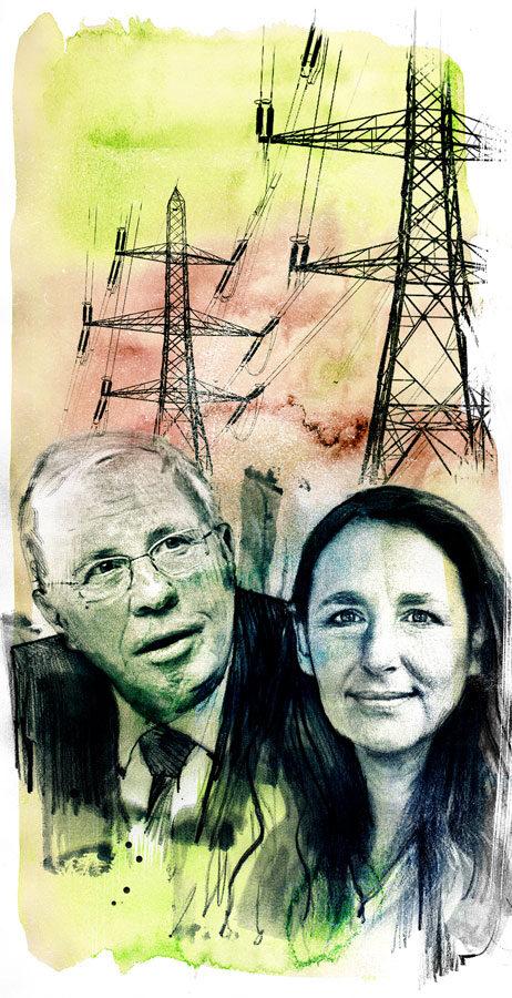 Energiepolitik - Kornel Illustration   Kornel Stadler portfolio
