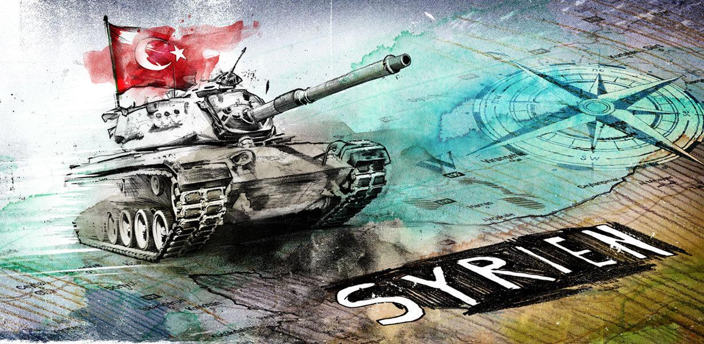 Syrien - Kornel Illustration   Kornel Stadler portfolio