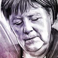 Work Merkel1 3142 634 1100 Kornel Illustration | Kornel Stadler