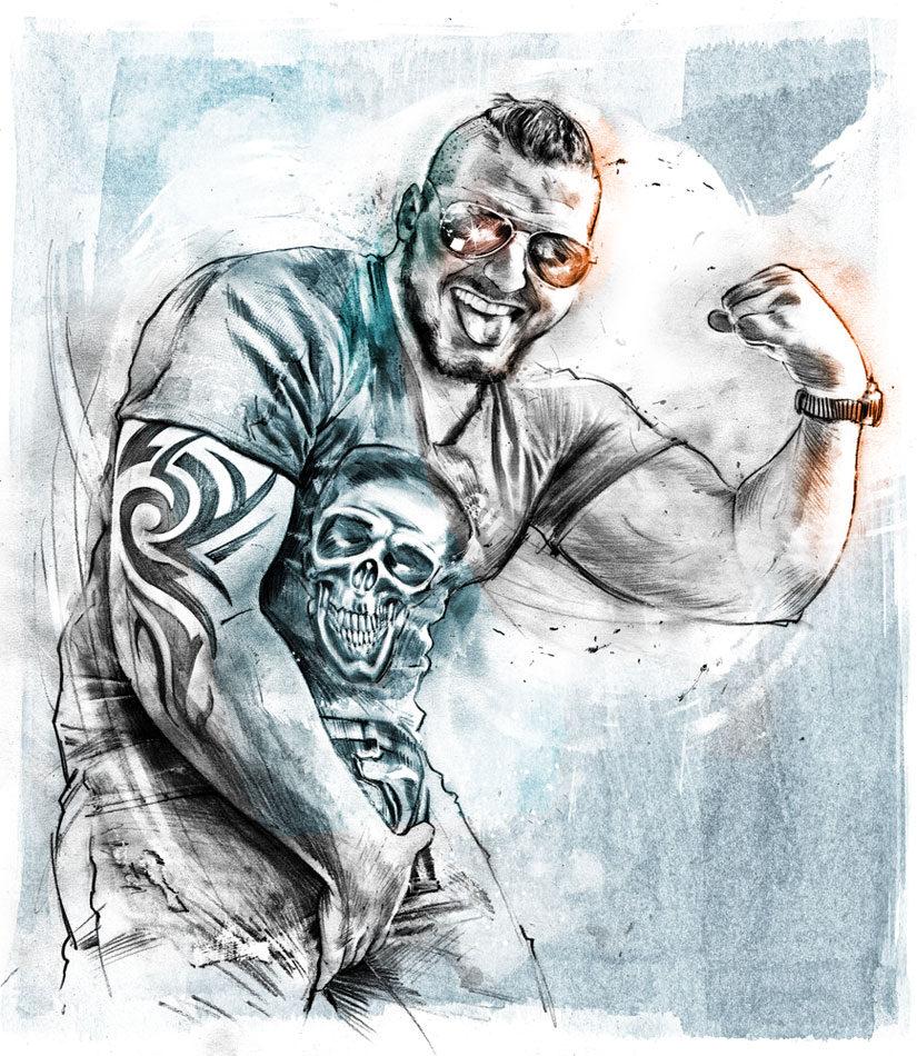 Mann 21 - Kornel Illustration | Kornel Stadler portfolio