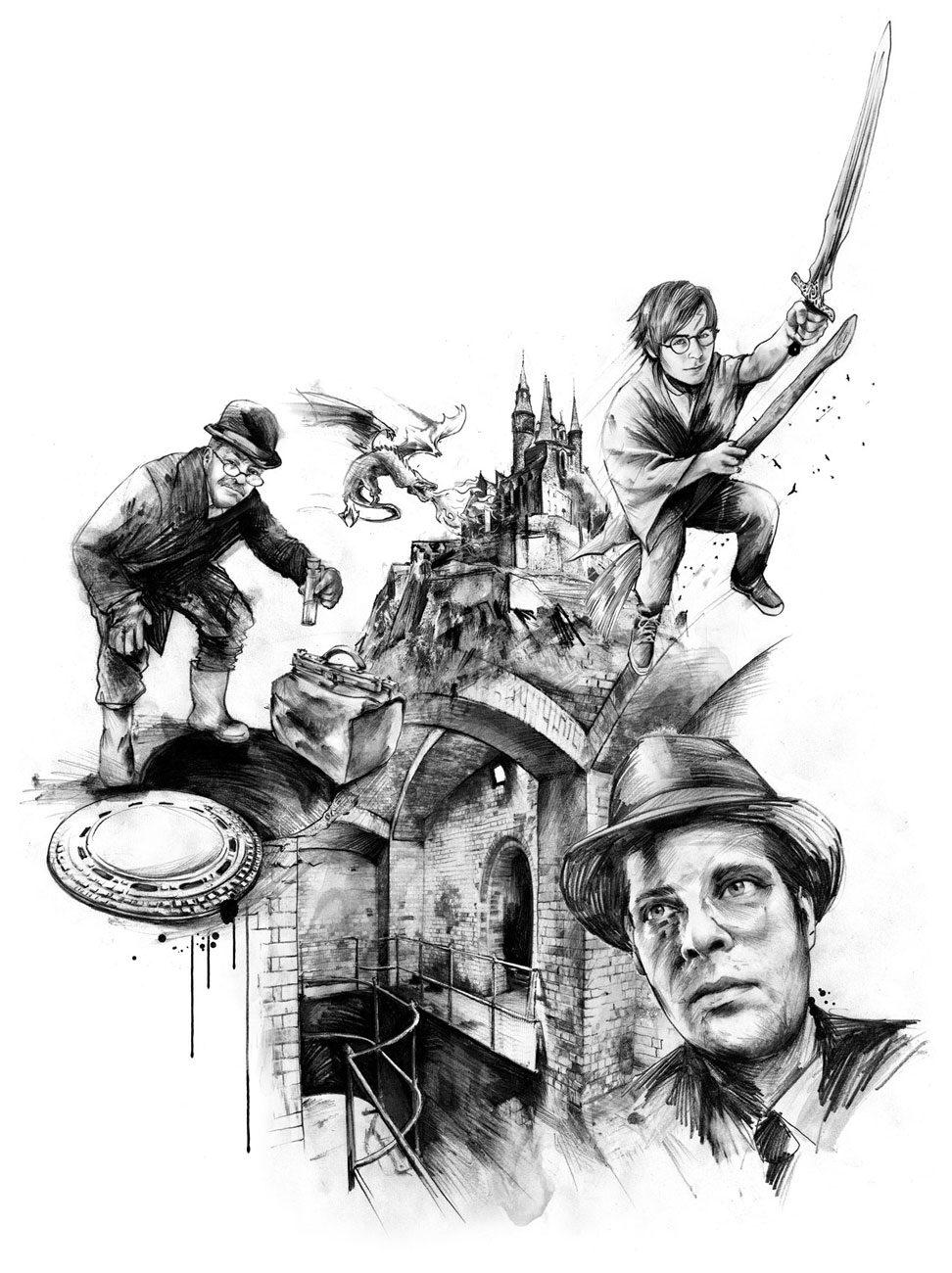 Untergrund2 - Kornel Illustration   Kornel Stadler portfolio