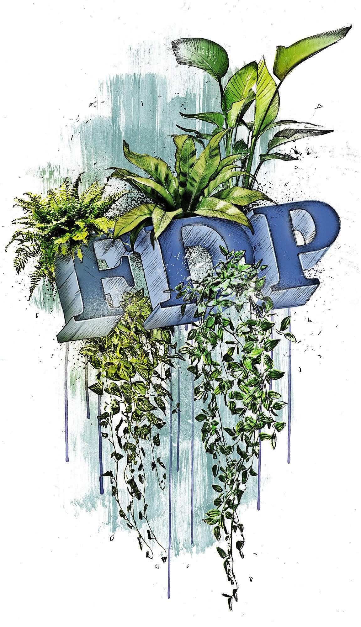 FDP Klima Krise - Kornel Illustration   Kornel Stadler portfolio