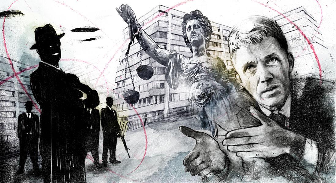 Mafia - Kornel Illustration | Kornel Stadler portfolio