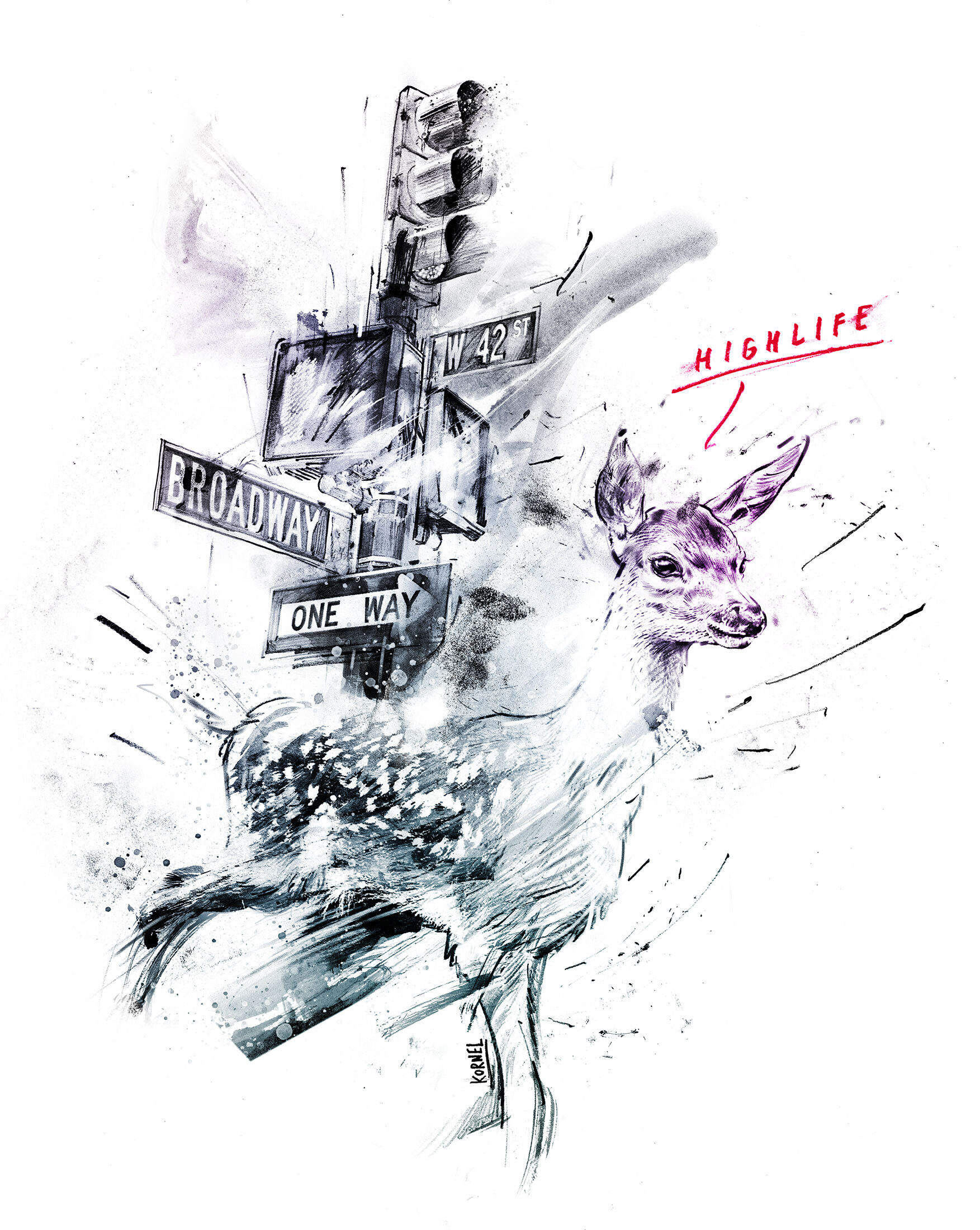 Bambi - Kornel Illustration   Kornel Stadler portfolio
