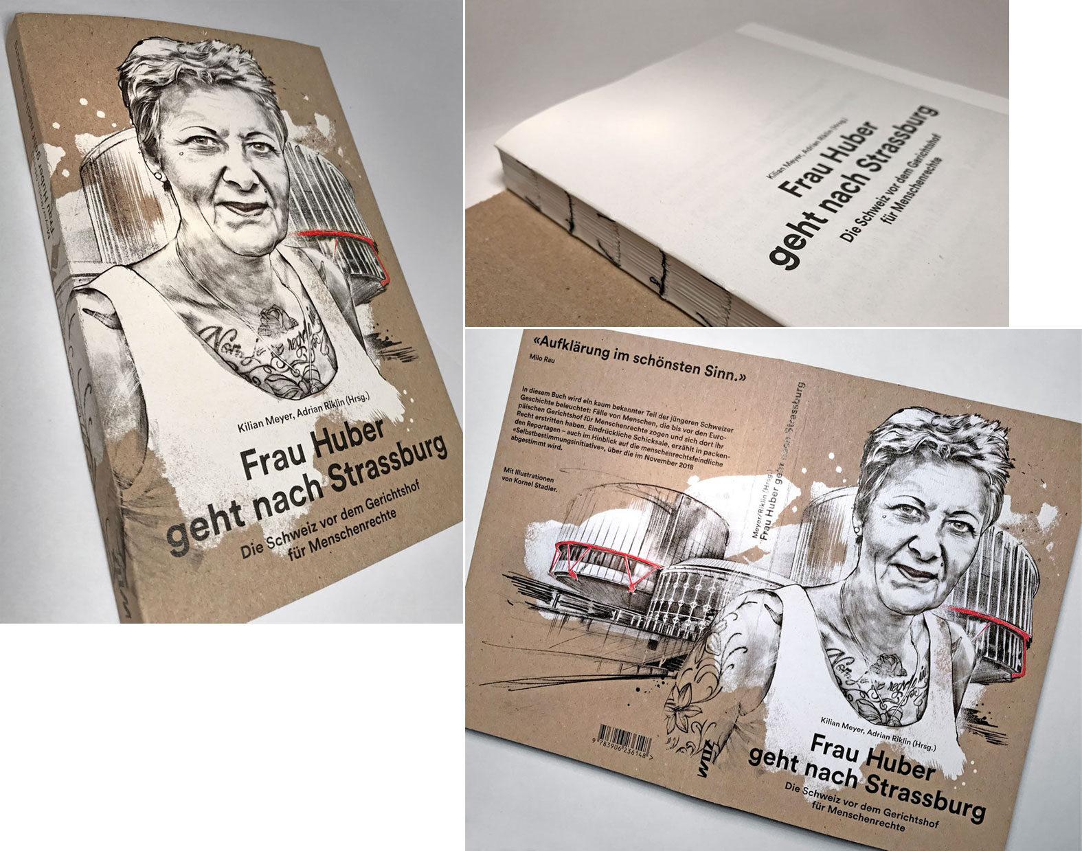 Frau Huber - Kornel Illustration | Kornel Stadler portfolio