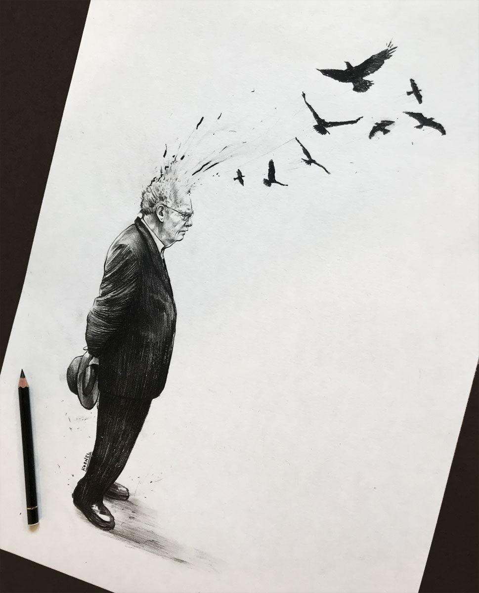 Voegel 21 - Kornel Illustration | Kornel Stadler portfolio