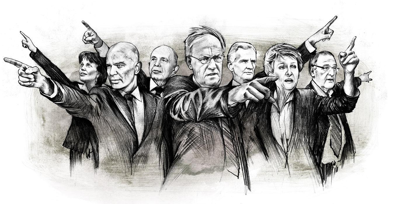 Bundesrat - Kornel Illustration | Kornel Stadler portfolio