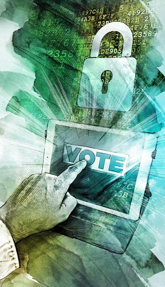 SZ Wahlen Hack - Kornel Illustration | Kornel Stadler portfolio