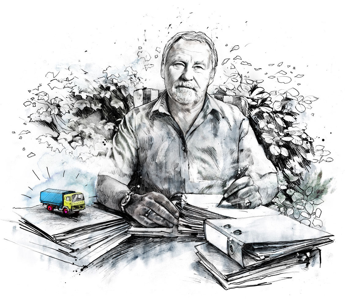 Gror - Kornel Illustration | Kornel Stadler portfolio