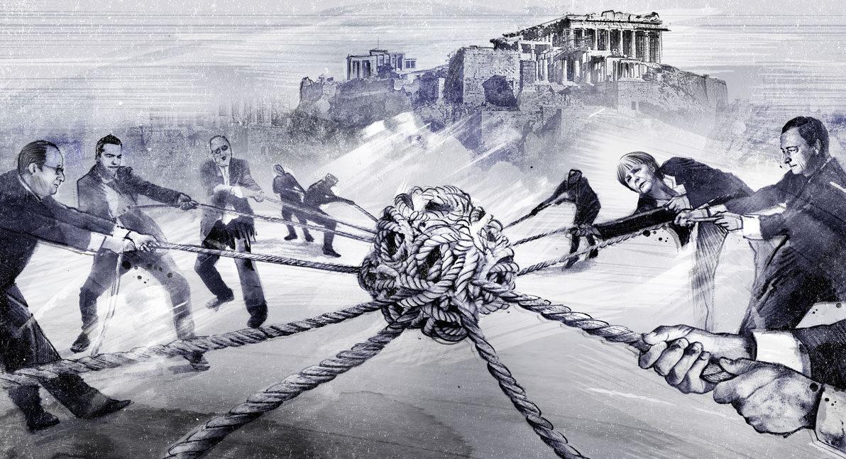 Griechenland1 - Kornel Illustration | Kornel Stadler portfolio