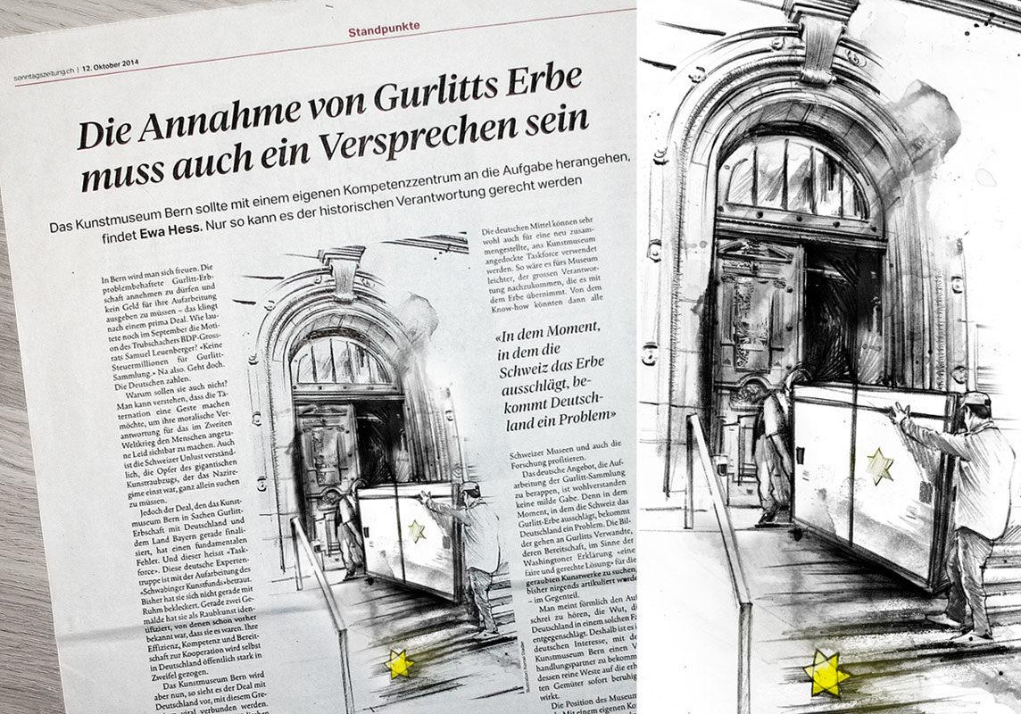 Gurlitt - Kornel Illustration | Kornel Stadler portfolio