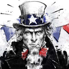 Work 4th of july uncle sam usa independenceday editorial conceptual illustration Kornel Illustration | Kornel Stadler