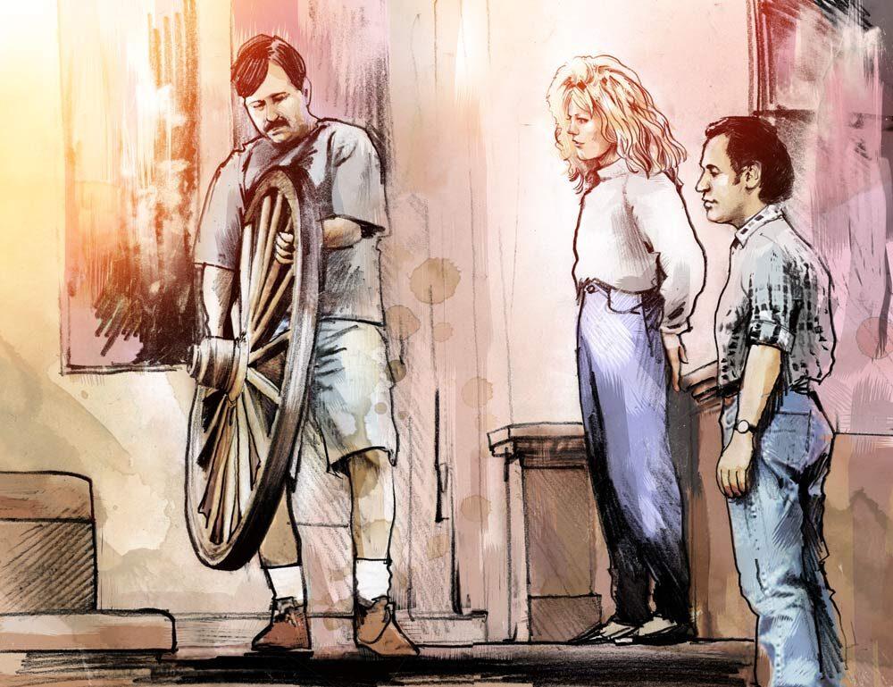 Harry und Sally - Kornel Illustration | Kornel Stadler portfolio