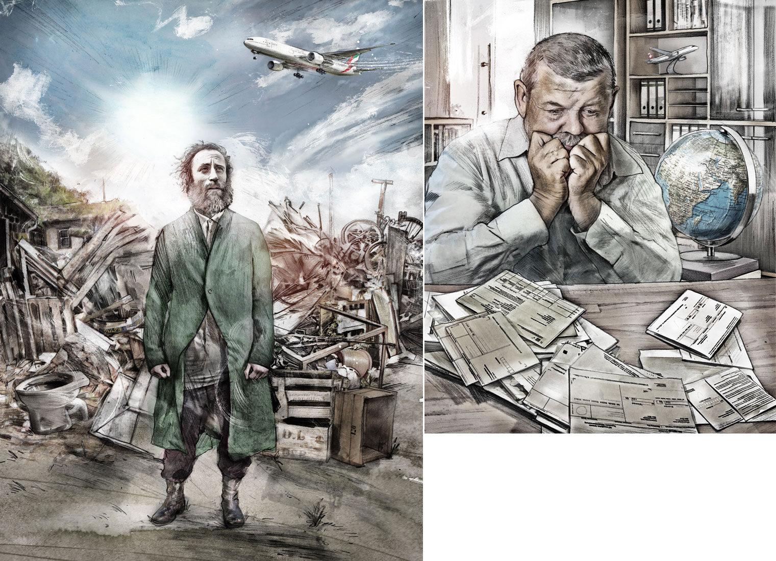 Beobachter4 - Kornel Illustration | Kornel Stadler portfolio