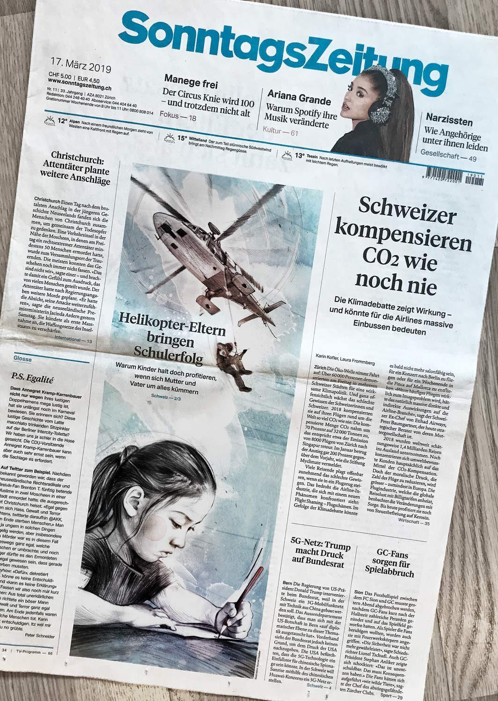 SZ Helikopter 1 - Kornel Illustration | Kornel Stadler portfolio