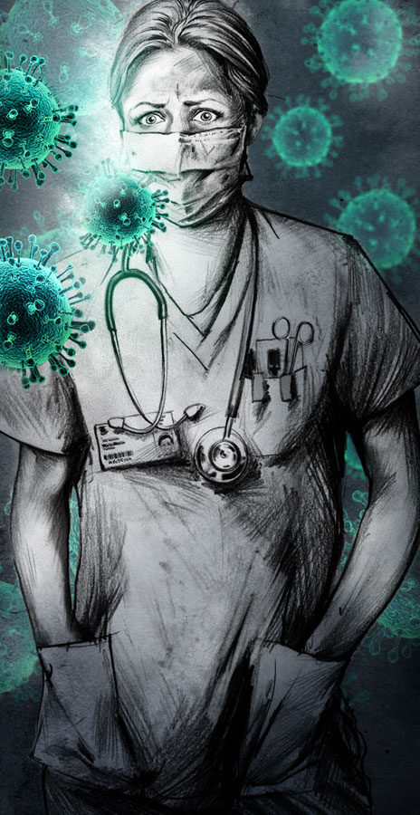Grippe - Kornel Illustration | Kornel Stadler portfolio