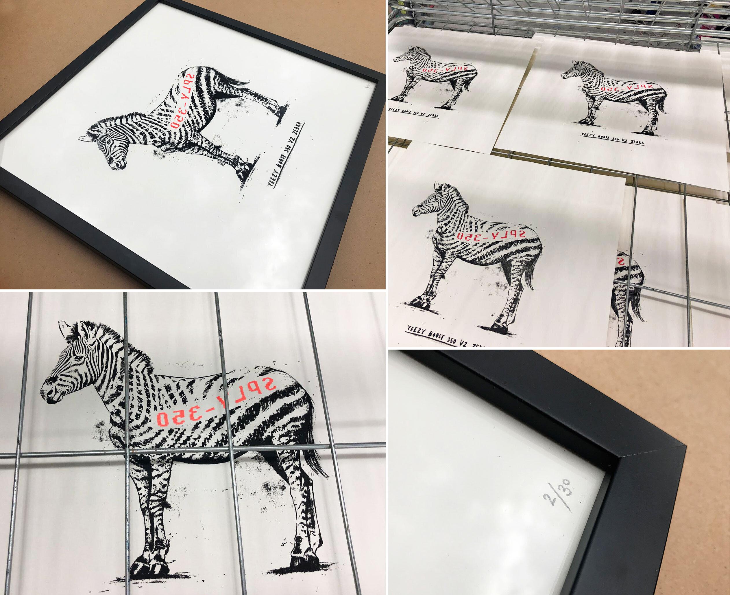 Yeezy siebdruck - Kornel Illustration | Kornel Stadler portfolio