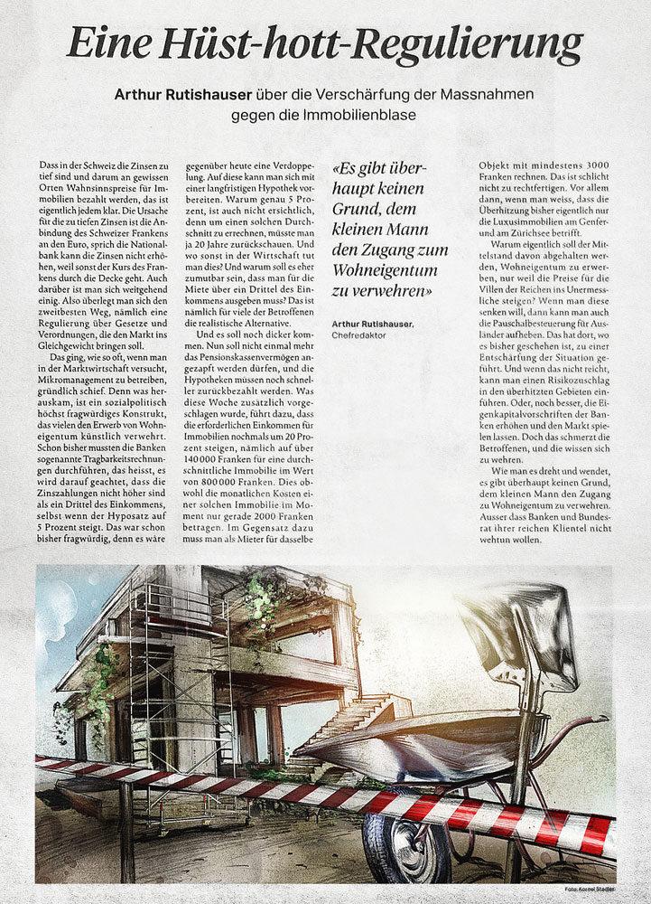 Foto Zeitung2 - Kornel Illustration | Kornel Stadler portfolio