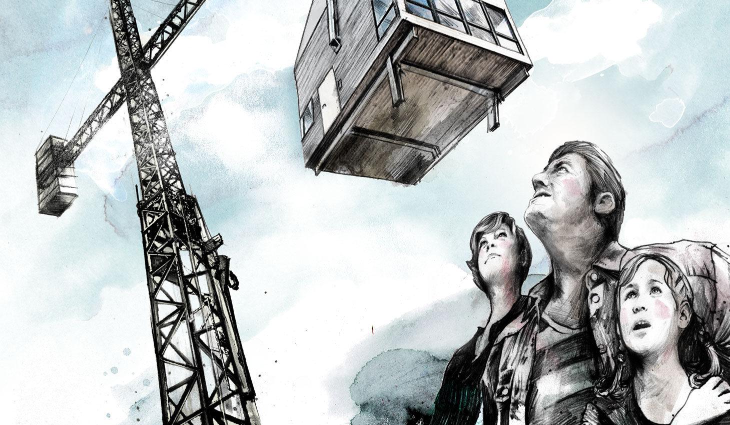 Immobilienrisiko - Kornel Illustration | Kornel Stadler portfolio