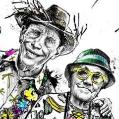 Work Tourists elderly all inclusive travel illustration caricature Kornel Illustration | Kornel Stadler