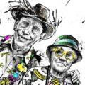 Client Arbeit Tourists elderly all inclusive travel illustration caricature Kornel Illustration | Kornel Stadler