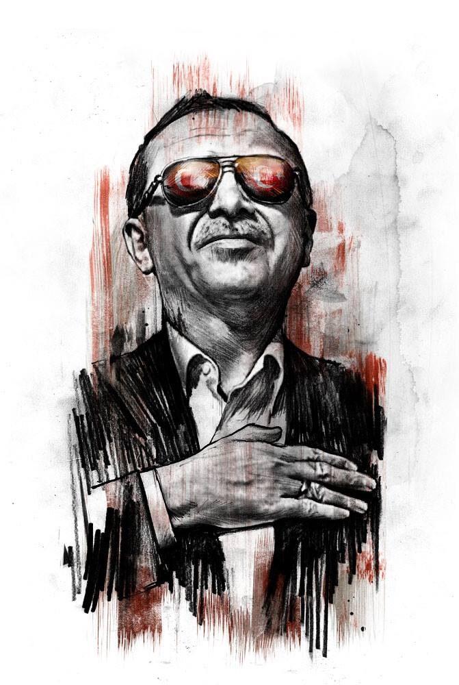 Erdogan2 - Kornel Illustration | Kornel Stadler portfolio