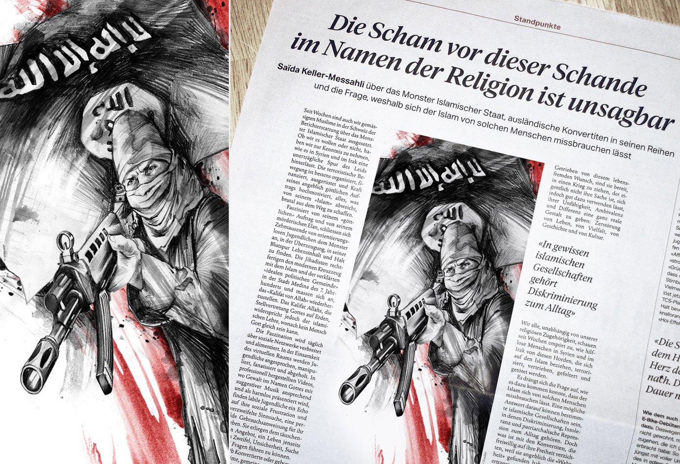 Isis1 - Kornel Illustration | Kornel Stadler portfolio