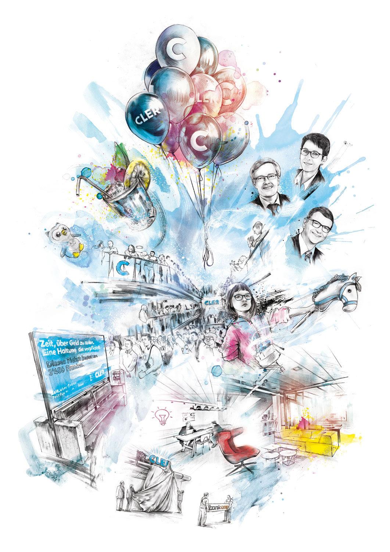 CLER - Kornel Illustration | Kornel Stadler portfolio