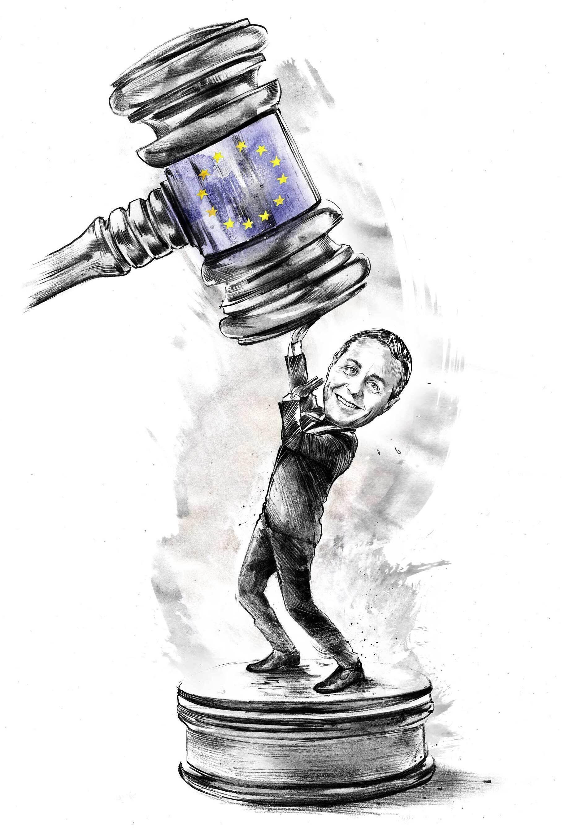 Ignazio cassis eu illustration karikatur - Kornel Illustration | Kornel Stadler portfolio