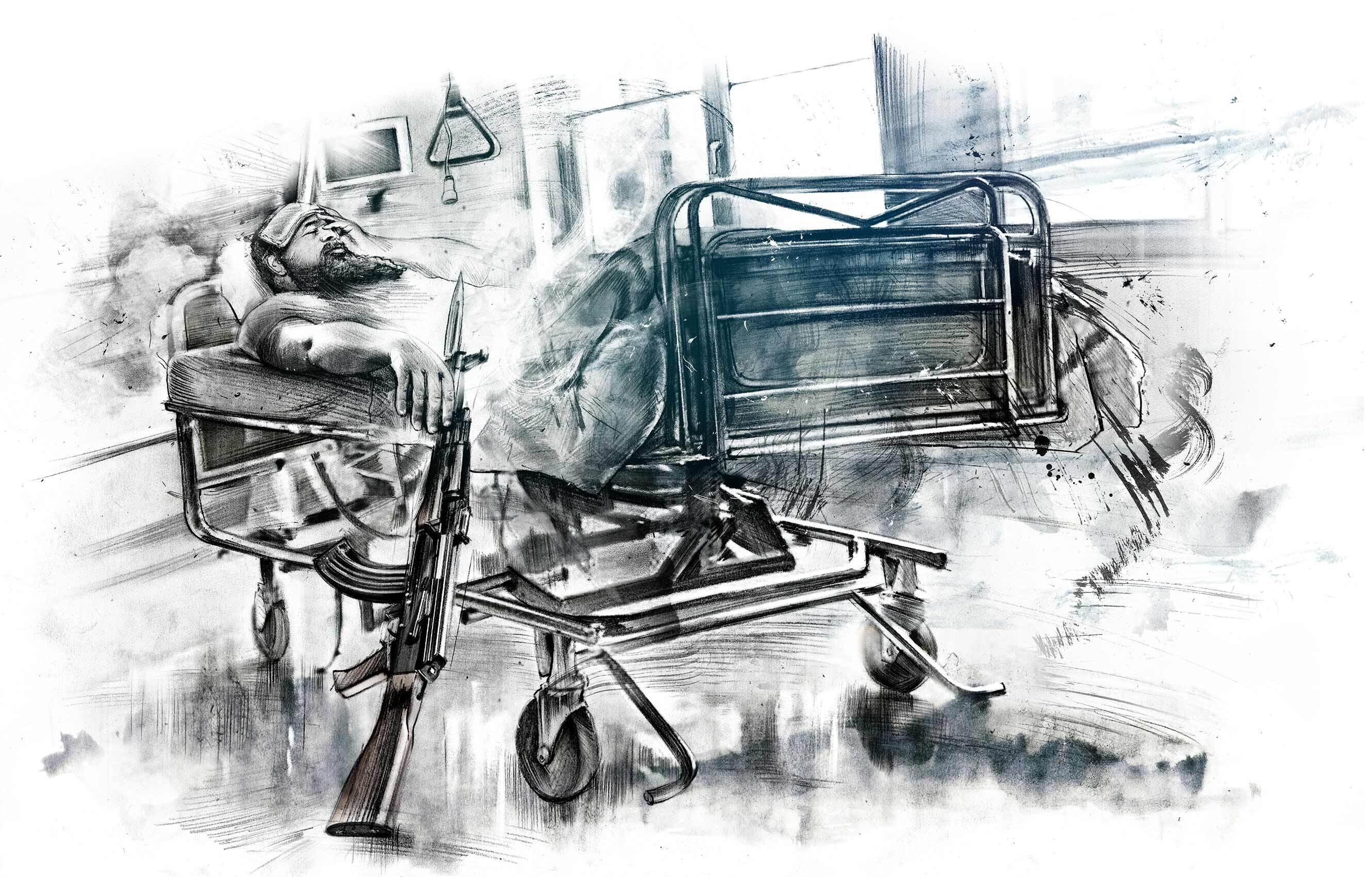 Illustration hospital - Kornel Illustration | Kornel Stadler portfolio