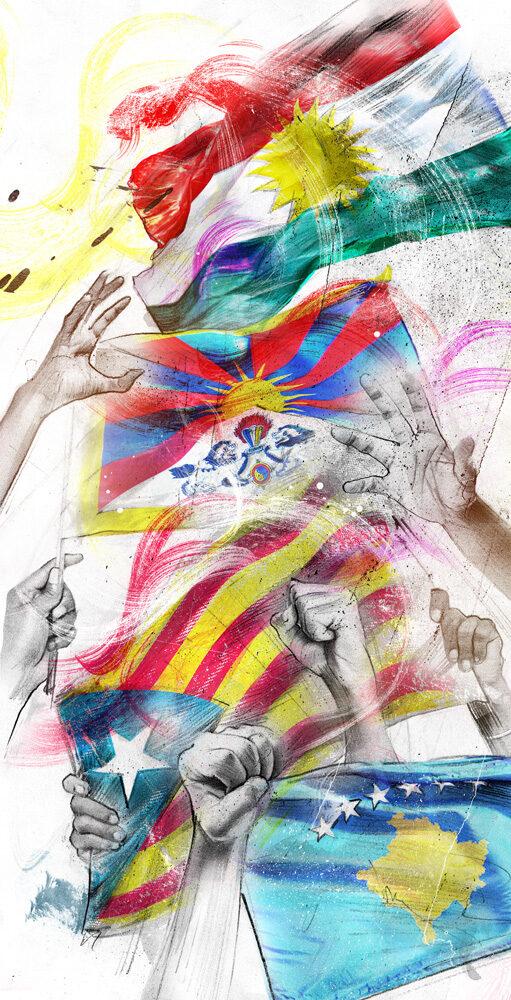 Flags - Kornel Illustration | Kornel Stadler portfolio