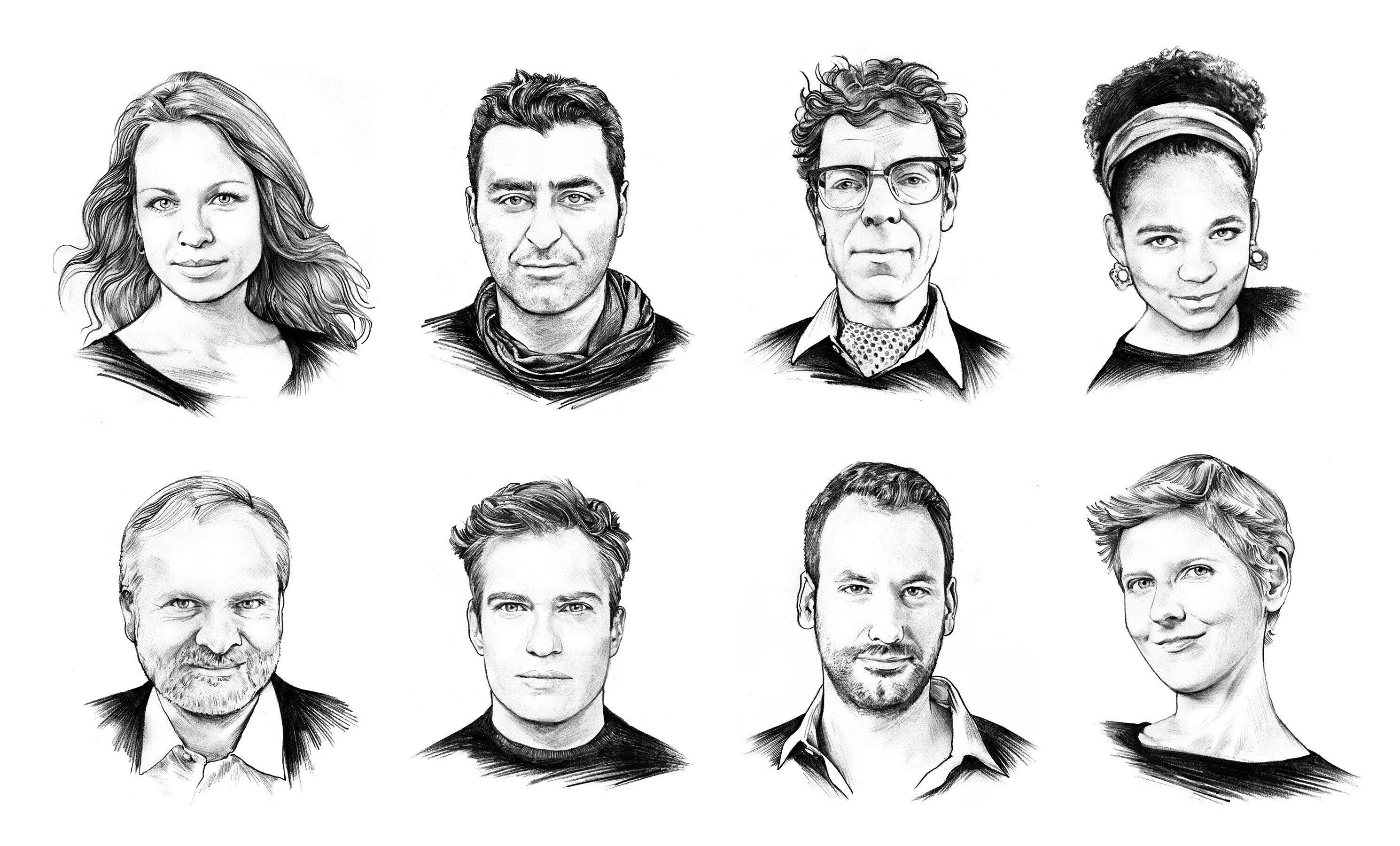 Editorial Portrait Illustration - Kornel Illustration | Kornel Stadler portfolio