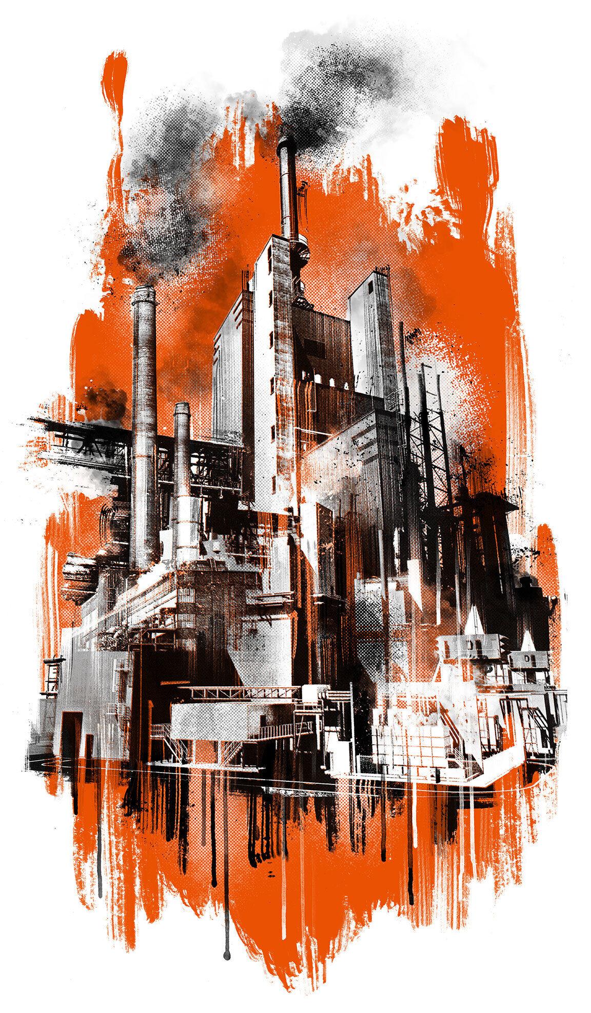 Konzern initiative - Kornel Illustration | Kornel Stadler portfolio