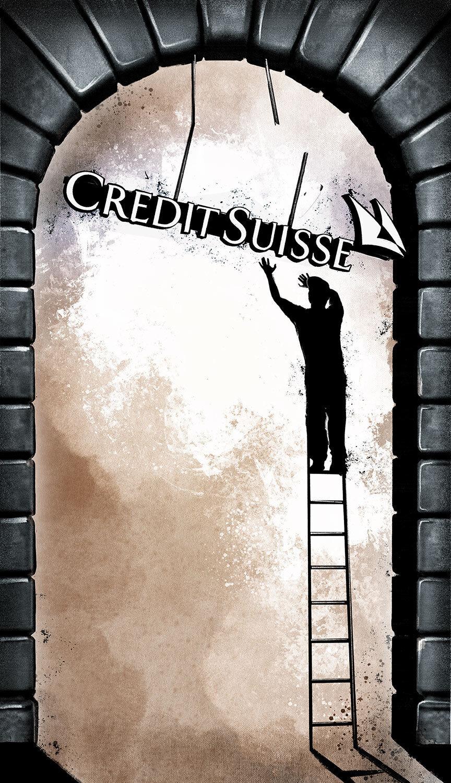 Credit Suisse editorial illustration - Kornel Illustration | Kornel Stadler portfolio