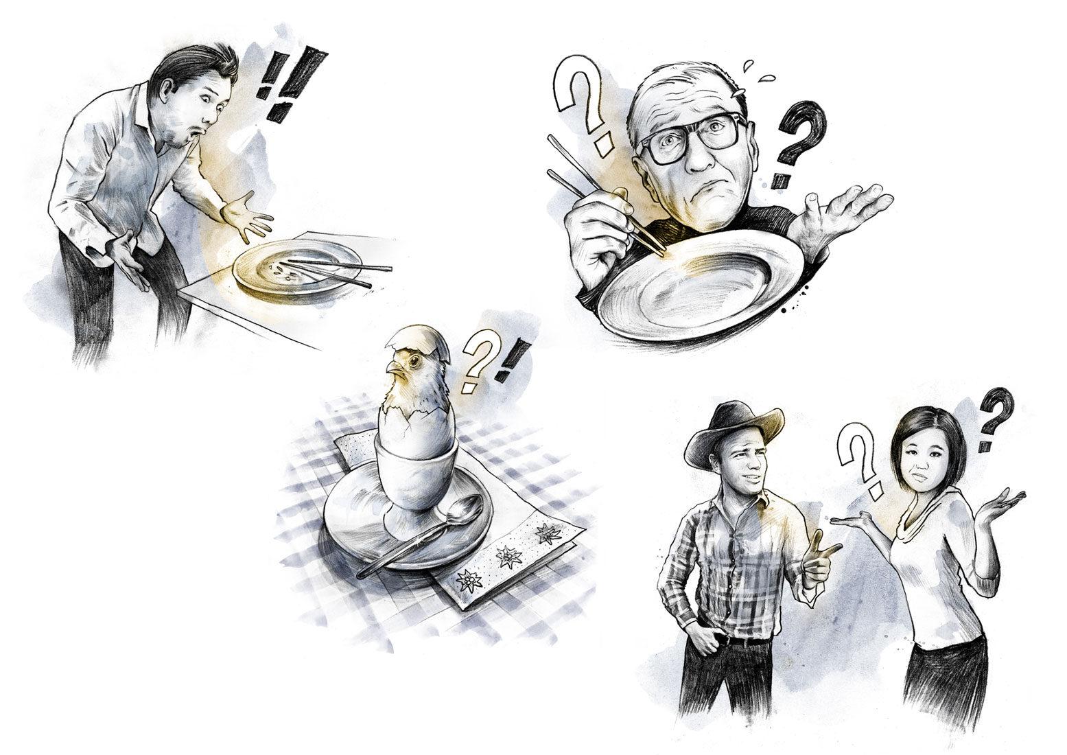 Quiz - Kornel Illustration | Kornel Stadler portfolio