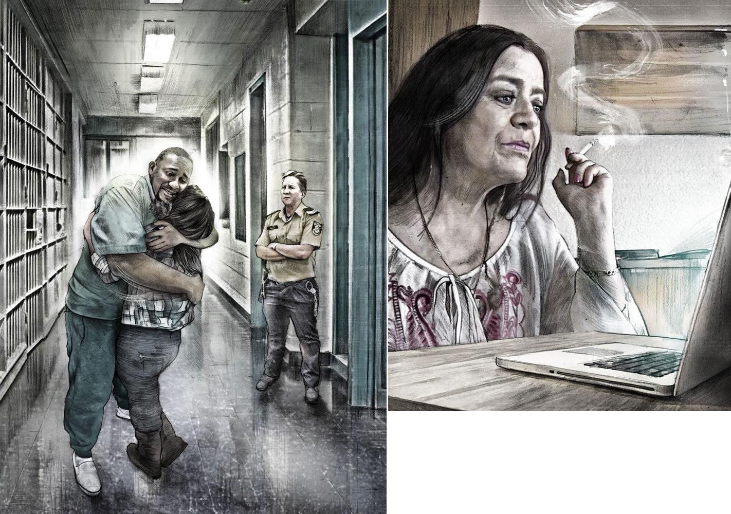 Beobachter - Kornel Illustration   Kornel Stadler portfolio